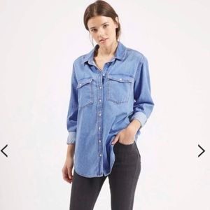 Topshop | MOTO denim shirt